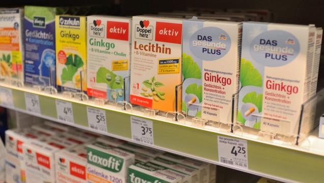 Welche Auswirkungen hat der Ginkgo-Streit auf die Drogeriemarkt-Regale? (Foto: DAZ.online)