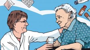 Eine Patientin mit Juckreiz und Ödemen