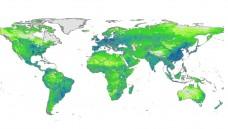 Antibiotika-Einsatz weltweit: Die Karte zeigt die Menge der in der Tiermast verwendeten Antibiotika. (Quelle: Dr T.P. Van Boeckel, Princeton University)