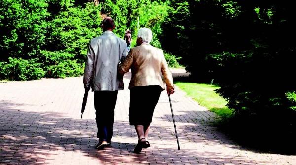 Aufrecht im Alter