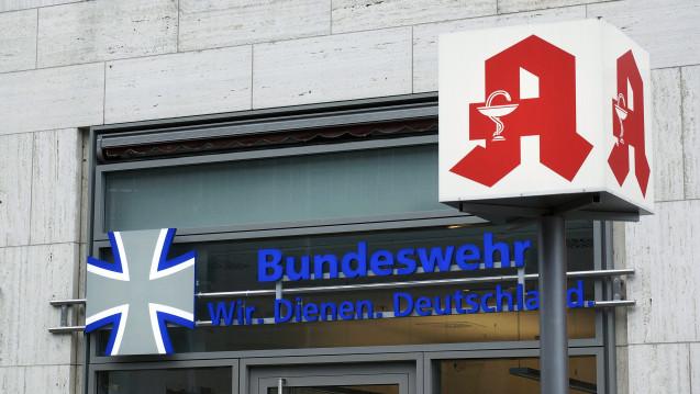 Welche Regeln gelten, wenn Angehörige der Bundeswehr in die Apotheke kommen? (c / Foto: imago)