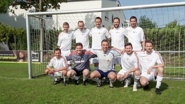 Die Junioren-Mannschaft der bayerischen Apotheker-Fußballer sind Deutscher Apotheker-Fußballmeister geworden. (b/Foto:HAV)