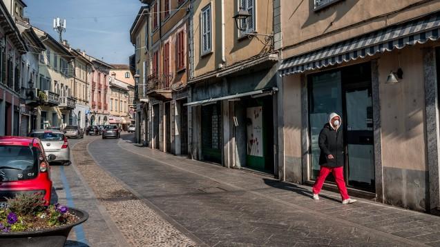 In der Gegend rund um die norditalienische Stadt Codogno haben sich in kurzer Zeit mehr als 130 Menschen mit dem Coronavirus infiziert. (Foto: imago images / Independent photo agency)