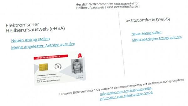 Auch Versender bekommen HBA- und SMC-B-Ausweise