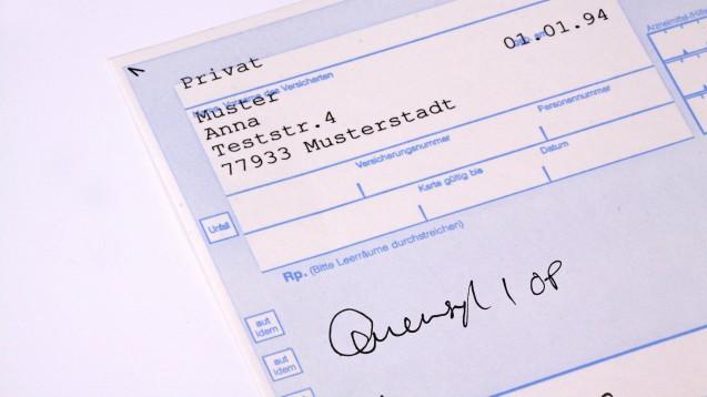 Quensyl-Verordnungen auf Privatrezept ohne Indikationsangabe möchte das BfArM nicht sehen. (Foto: Klaus Eppele/stock.adobe.com; Montage DAZ.online)