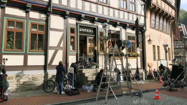 Apotheke dient als Kulisse für ZDF-Komödie