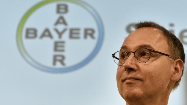 Bayer-Chef Werner Baumann: Bleibt Monsanto-Übernahme nur ein Traum? (Foto: dpa)