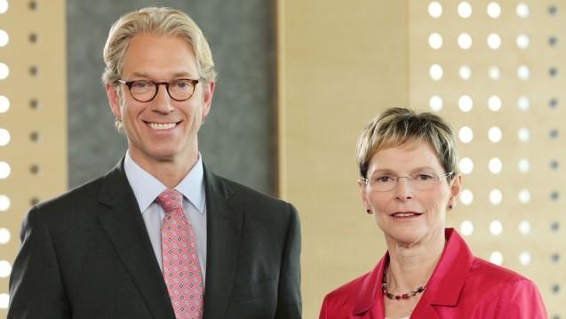 Andreas Gassen und Regina Feldmann - können sie das Image der KBV verbessern? (Foto: KBV)