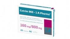 Einmal zurück: Cotrim 960 1A Pharma. Der Grund: Die Tabeltten sind defekt. (Foto: 1A Pharma)