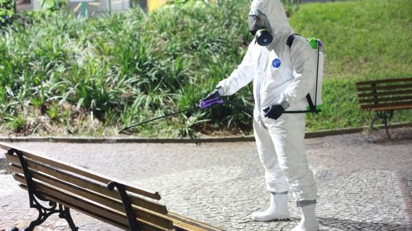 Können Desinfektionsmittel der Gesundheit schaden?
