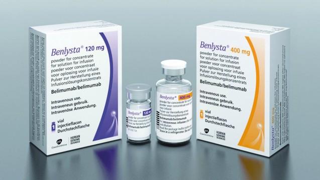 Patienten mit systemischen Lupus Erythematodes unter Belimumab (Benlysta) zeigen ein erhöhtes Risiko für Depressionen, Suizidgedanken und Suizidverhalten. (r / Foto: GSK)