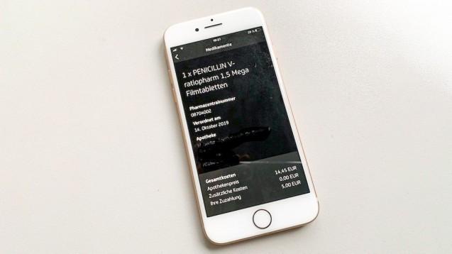 Die Kasse weiß über jede Zuzahlung Bescheid, über die App der TK kann man sich davon leicht überzeugen.( r / Foto: DAZ.online)