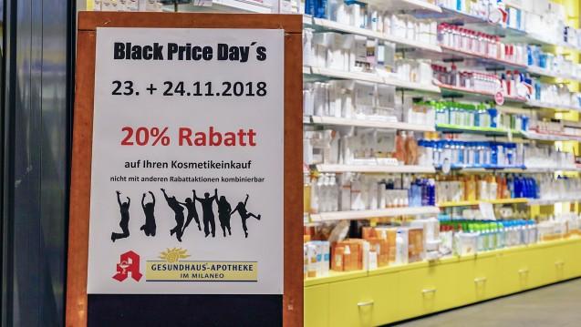 Wie viel Werbung darf es in der Apotheke sein? ( r / Foto: imago)
