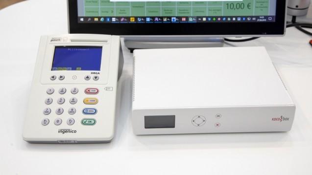 """Die """"KoCoBox MED+"""" von CGM hat die Zulassung zum E-Health-Konnektor erhalten. (m / Foto: Schelbert)"""