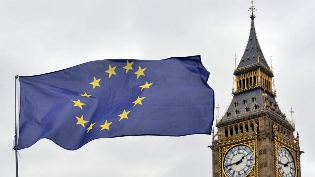 Die Tage, an denen die EU-Flagge über London weht, sind gezählt. Die EMA macht bereits konkrete Pläne für den Umzug. (Foto:picture alliance / empics)
