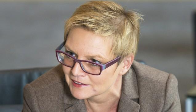 Sabine Dittmar (Bayern, SPD), gesundheitspolitische Sprecherin der SPD-Fraktion, Ärztin und Kinderpflegerin (Foto: Kuelker)