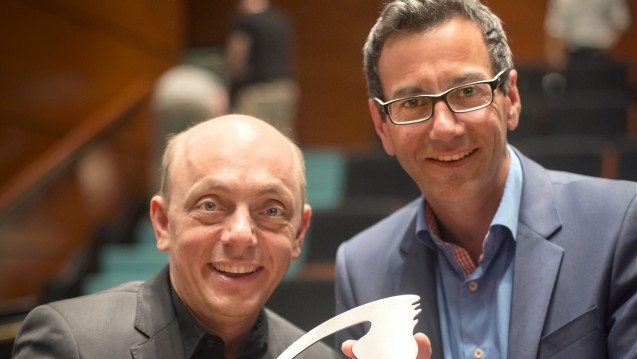 Die ABDA-Imagekampagne wurde mit dem Health Media Award ausgezeichnet. (Foto: HMA Int. Ltd)