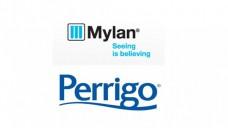 Bahnt sich die nächste Übernahme an? (Logos: Mylan/Perrigo, Montage: DAZ)