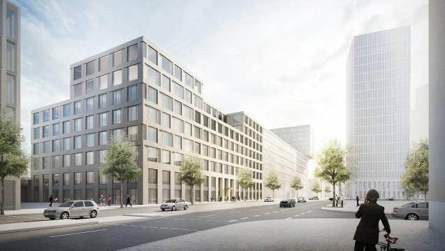 Los geht's: Die Arbeiten am neuen Apothekerhaus, für das die ABDA insgesamt 35 Millionen Euro ausgeben will, haben begonnen. Der Einzug soll im Frühjahr 2019 erfolgen. (Foto: CA Immobilien)