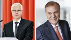 Der Präsident der Bayerischen Apothekerkammmer, Thomas Benkert, und der Vorsitzende des Apothekerverbands Westfalen-Lippe, Dr. Klaus Michels, wollen den neuen Spahn-Plan so nicht umgesetzt wissen. (m / Foto: BLAK   AVWL)