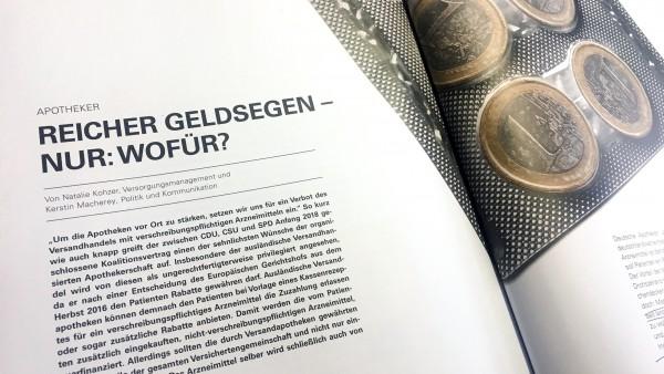 BKK-Verband: Apotheker erhalten 530 Millionen Euro aus der Gießkanne