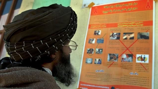 In muslimisch geprägten Ländern– wie hier Afghanistan– ist HIV-Aufklärung alles andere als selbstverständlich. (Foto: dpa)