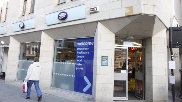 Die britische Apothekenkette Boots musste im ersten Quartal des laufenden Geschäftsjahres mit einer schwächelnden Apothekenkette Boots zu Recht kommen. (Foto: Imago)