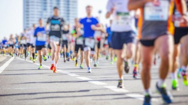 In Stuhlproben von Marathonläufern fiel auf, dass sich Bakterien der Gattung Veillonella eine Woche nach dem Lauf stark vermehrt hatten. Sie können Laktate, die bei großer Anstrengung in den Muskeln entstehen, in kurzkettige Fettsäuren umwandeln. (c / Foto:                                                                                                                                                                                                                                                                                       babaroga                                                                                               / stock.adobe.com)