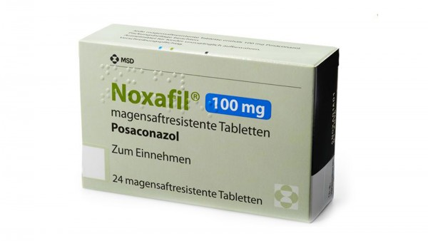 Noxafil-Tabletten und Suspension nicht einfach austauschen