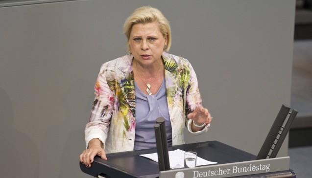 Hilde Mattheis (Baden-Württemberg, SPD), ehemalige gesundheitspolitische Sprecherin der SPD (Foto: Imago)