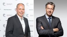 Dr. Michael P. Kuck, Vorstandsvorsitzender der Noweda, und Andreas Arntzen,Chief Executive Officer beimWort & Bild Verlag. (Foto: Noveda/Burda | Wort & Bild)