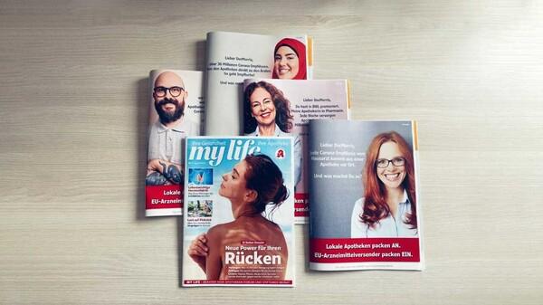 """Anpacken statt Einpacken – Noweda-Kampagne jetzt auch in der """"My Life"""""""