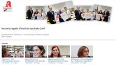 """Die Preisträger des """"Nachwuchspreis öffentliche Apotheke"""" sind bei YouTube ins Bild gesetzt. (Bild: Screenshot youtube)"""