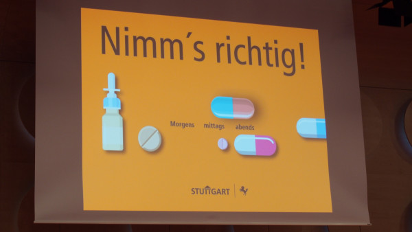 Ein Medikationsplan für Stuttgart
