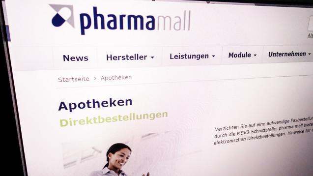 Wer ist die Pharma Mall? Eigenen Angaben zufolge sind 19.300 Apoheken bei dem Bestellportal gemeldet, 1 Million Transaktionen gehen auf das Konto von Apothekern. (Abb.: Pharma Mall)