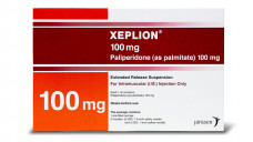 Zwei Chargen des atypischen Neuroleptikums Xeplion®, hier allerdings in einer anderen Stärke abgebildet, sind auf dem deutschen Markt von Fälschungen betroffen– jedoch haben die Packungen bulgarische oder rumänische Aufmachungen. (Foto: Hersteller)
