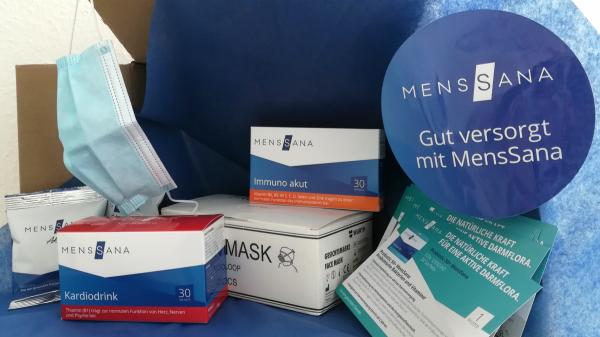 Menssana verschenkt 50.000 OP-Masken an Apotheken
