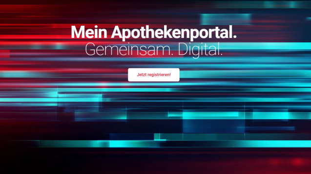 """Apotheken können sich als Anbieter von COVID-19-Schnelltests für die Suchfunktion des Kundenportals """"mein-apothekenmanager.de"""" registrieren. (Screenshot: www.mein-apothekenportal.de/DAV)"""