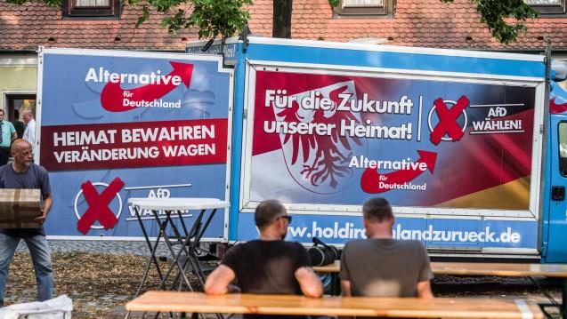 Die AfD hat in Brandenburg sehr viel mehr Wähler überzeugen können als noch 2014, sie ist jetzt zweitstärkste Kraft im Parlament. (Foto: imago images / Zuma Press)