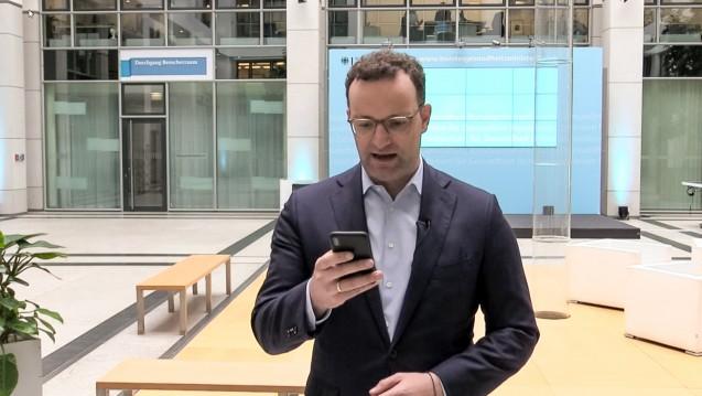Bundesgesundheitsminister Jens Spahn (CDU) darf am heutigen Mittwoch seine geplante Apothekenreform im Kabinett vorstellen und hofft auf Zustimmung? (c / Quelle:Bundesministerium für Gesundheit / Facebook)