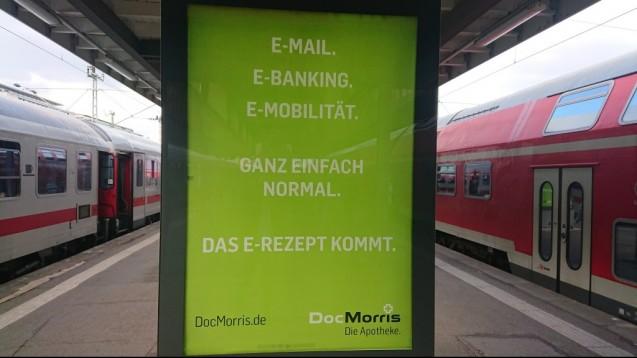 DocMorris weist in seiner neuen Kampagne auf das E-Rezept hin. (m / Foto: brysch)