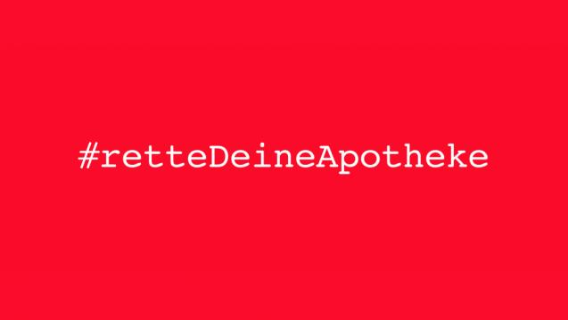 #rettedeineApotheke schreibt an Kammer- und Verbandsvorsitzende und ruft dazu auf, Bühler zu unterstützen und ihm die Gutachten zukommen zu lassen. (m / Foto: #rettedeineApotheke)