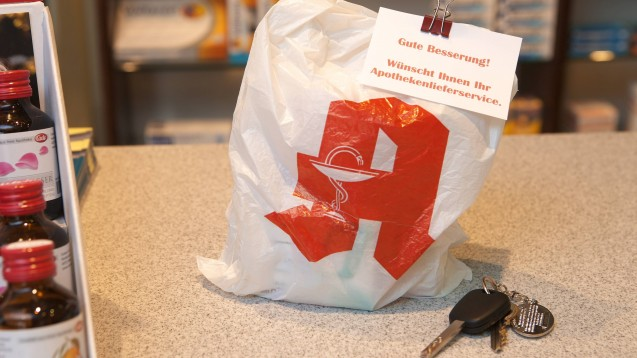 Die Apotheker in Nordrhein wollen dem Versandhandel nicht kampflos das Feld überlassen und starten eine gemeinsame Botendienst-Offensive. (s / Foto: Imago images/JOKER)