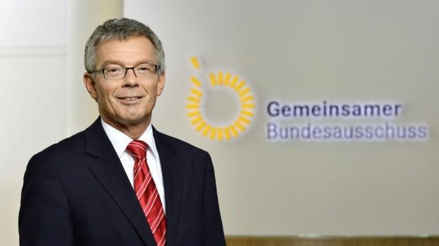 G-BA-Chef Josef Hecken soll nun doch nicht nach sechs Jahren seinen Stuhl räumen müssen. (Foto: G-BA)