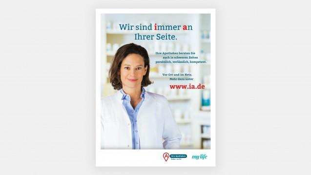 Der Zukunftspakt Apotheke bewirbt seine Vorbestellplattform ihreapotheken.de derzeit in den Magazinen des Burda-Verlags. (c / Quelle: NOWEDA)