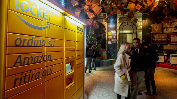 "Amazon startet ""Click-and-Collect""-Service in Italien und UK"