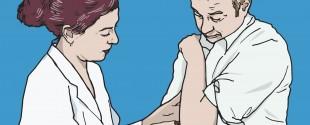 Ein Psoriasis-Patient mit arterieller Hypertonie