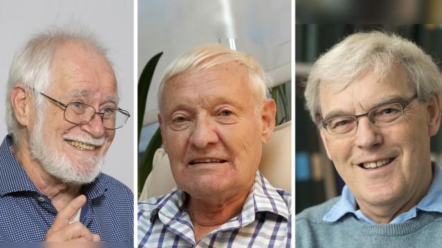 Die Kryo-Elektronenmikroskopie, entwickelt von den Chemie-Nobelpreisträgern Jaques Dubochet, Joachim Frank und Richard Henderson, ermöglicht neue Ziele für die Arzneimittelforschung. Sie zeigt im Detail, wo Arzneimittel binden können. (Foto: dpa, AP, Picture Alliance, KEYSTONE)