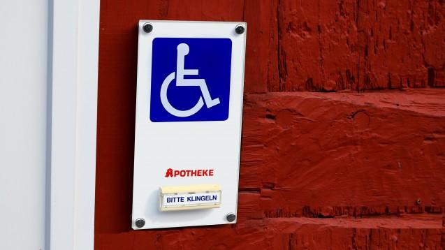 Ein barrierefreier Apothekenzugang kann eine Zukunftschance sein, (Foto: Anja Götz / stock.adobe.com)