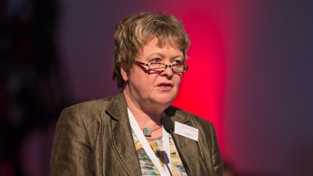 Magdalene Linz motiviert die Apotheker in Niedersachsen, ihre politische Arbeit nach dem EuGH-Urteil fortzusetzen. (Foto: Schelbert)